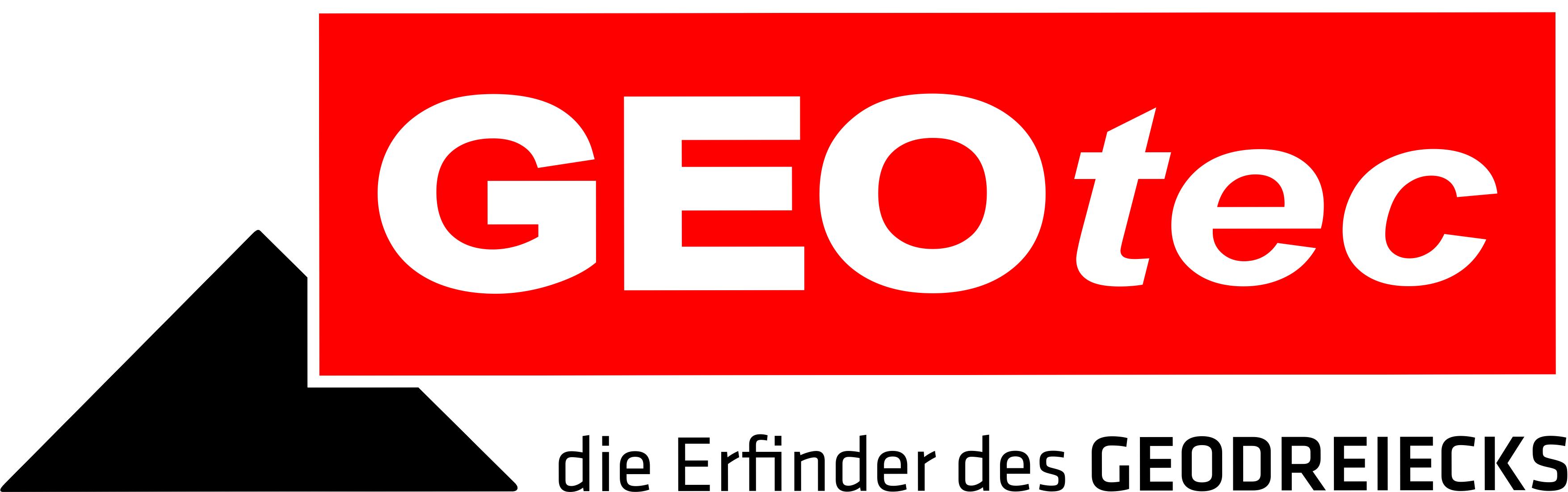 GEOtec Logo - die Erfinder des GEODREIECKS